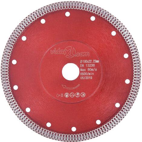 Diamant-Trennscheibe mit Löchern Stahl 180 mm