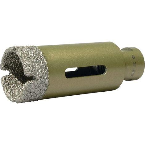 Diamantbohrkrone D.25mm L.70mm f.Fliesen/Granit/Marmor M14 PROMAT