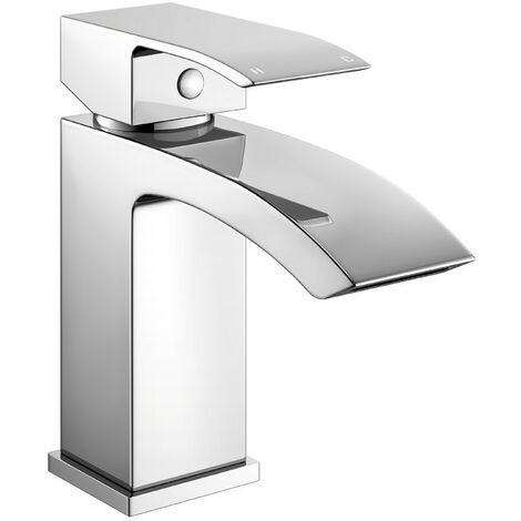Diamanti Chrome Basin Mono Mixer & Slotted Sprung Basin Waste