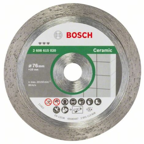Diamanttrennscheibe Best for Ceramic. 76 mm. 1.9 mm. 10 mm