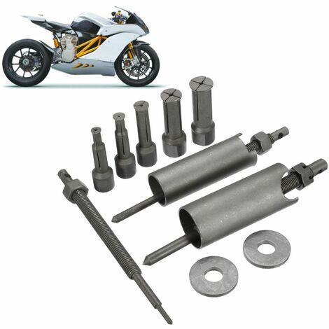 diamètre 9mm -23mm Kit d'outils de dissolvant d'extracteur roulement de planche à roulettes de moto de voiture automatique