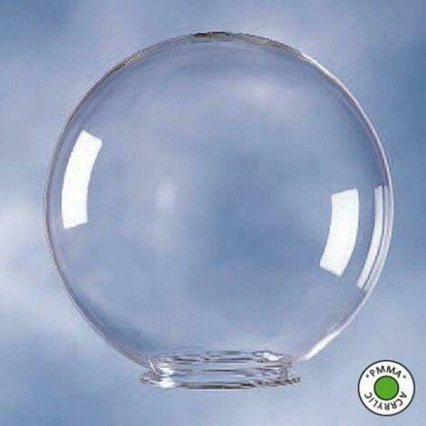 Diame'tre globe transparent 40 cm gl/40/tr