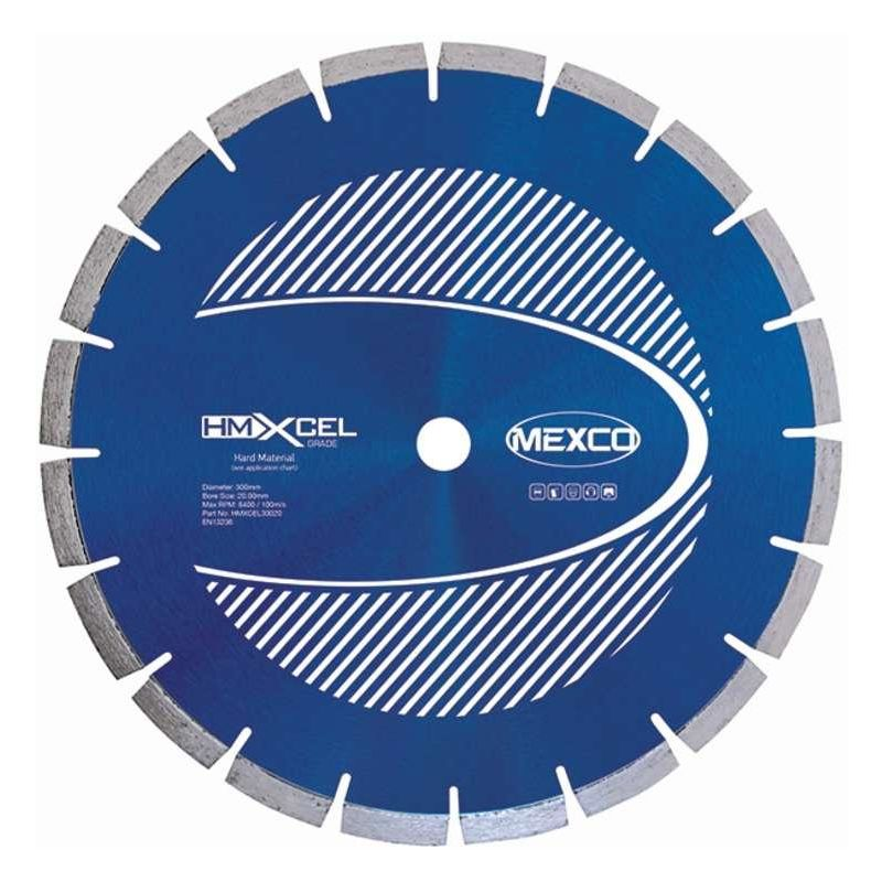 Image of 230Mm Hard Materials Xcel Grade Diamond Blade - Mexco