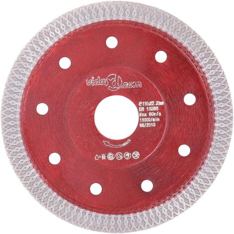 Diamond Cutting Disc with Holes Steel 115 mm