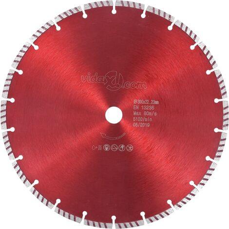Diamond Cutting Disc with Turbo Steel 300 mm