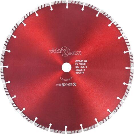 Diamond Cutting Disc with Turbo Steel 350 mm