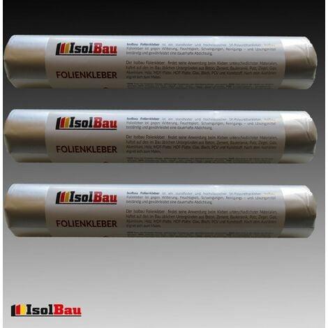 Dichtkleber 3 x 600 ml für Dampfbremse Folienkleber Dampfsperre Dampfbremsfolie
