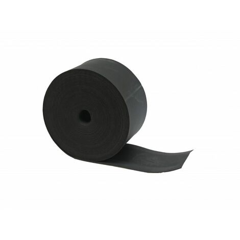Dichtungsband für EPDM-Balken und -Latten in 20-ml-Rolle - Farbe - Schwarz, Dicke - 0,8 mm, Breite - 70 mm, Länge - 20 m