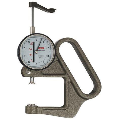 Dickenmessgerät K 50/3 D 0-30mm Abl. 0,1mm halbrd. 10=dmm Käfer