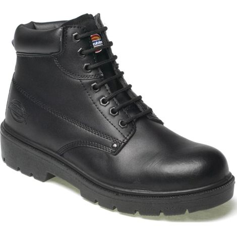 Dickies Antrim Safety Work Boots Black (Sizes 7-12) Men's Steel Toe Cap Shoes