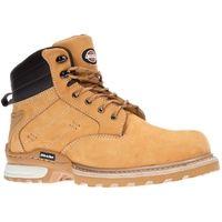 Dickies Canton Safety Work Boots Tan Honey (Sizes 7-12) Men's Steel Toe Cap Shoe