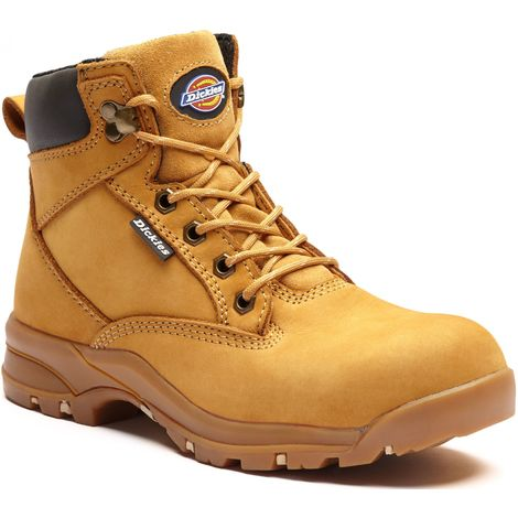 ed8fd9771e7 Dickies Corbett Womens Safety Work Boots Tan Honey (Sizes 3-8)