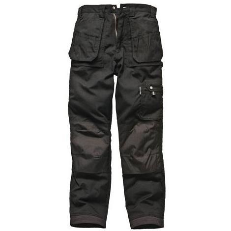 Dickies Eisenhower Multi-Pocket Reinforced Work Trousers Black (Various Sizes)