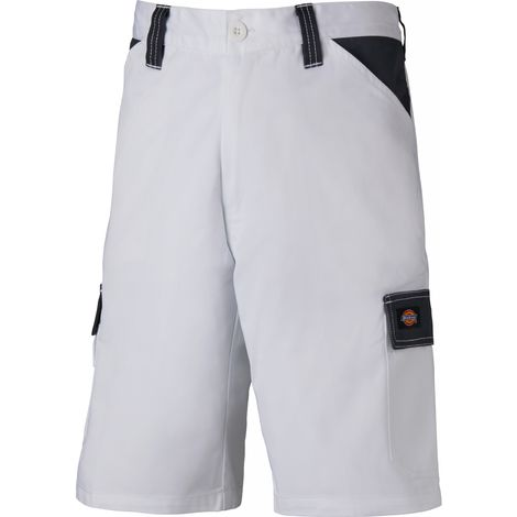 Dickies Everyday Work Shorts White & Grey Multi-Pockets (Various Sizes)