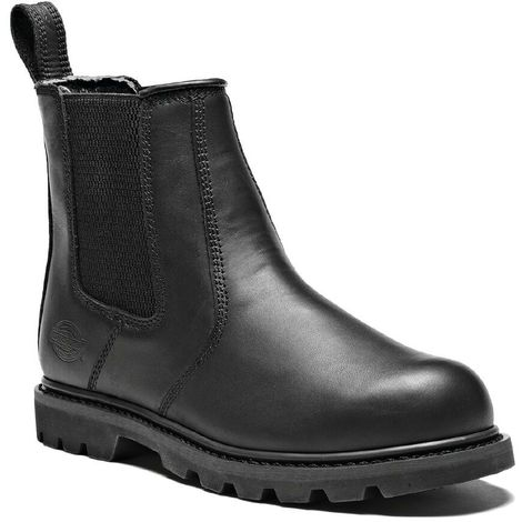 Dickies Fife II Safety Work Dealer Boots Black (Sizes 6 12)