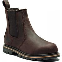 Dickies Fife II Safety Work Dealer Boots Crazy Brown (Sizes 6-12)