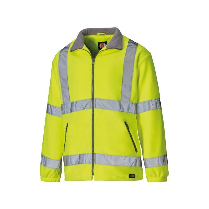 Expert Workwear HI Vis Viz Visibility Parka Jacket Security Work Two 2 Tone Waterproof Coat
