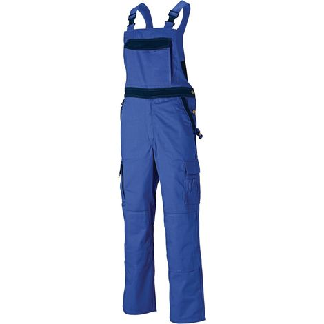 Dickies Industry 300 Mens Two Tone Work Wear Bib And Brace