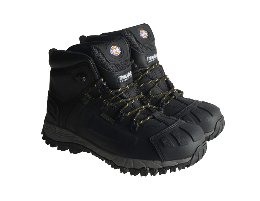 Dickies Medway Super Safety Work Boots Brown Men/'s Shoes Sizes 6-12