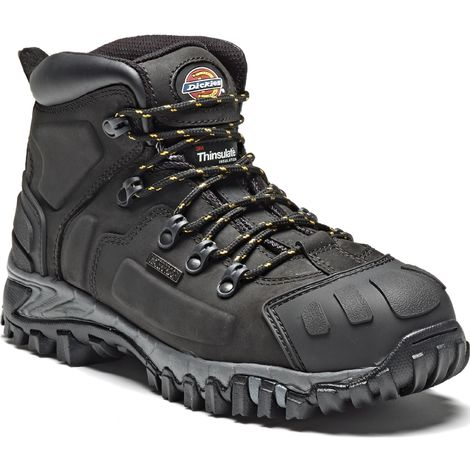Dickies Medway Super Safety Work Boots Brown (Sizes 6-12)