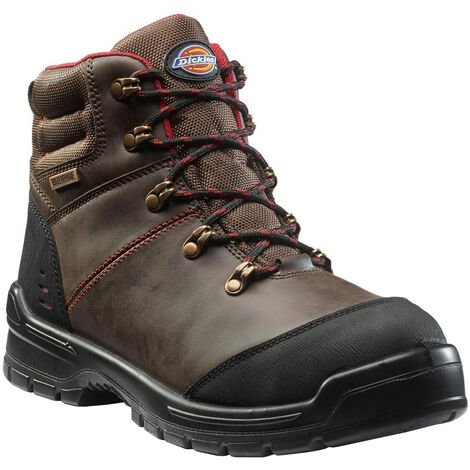 Dickies Mens Cameron Safety Leather Boot