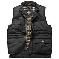 Dickies Mens Professional Quilted Combat Gilet Coat Jacket Bodywarmer