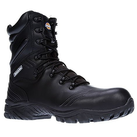 Dickies Mens Urban Hi Thinsulate Lined Safety Boot / Workwear (7) (Black)