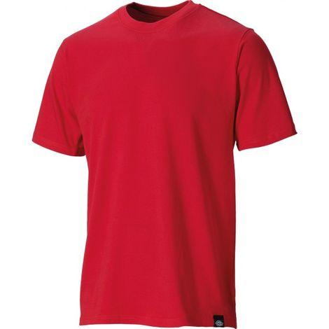0f92fa6b9 Dickies Plain Cotton T-Shirt Red - S - SH34225/NRD/S