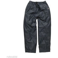 Dickies Raintite Waterproof Trousers Navy (Various Sizes)