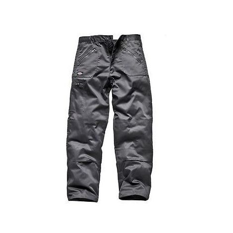 2018 sneakers the sale of shoes factory price Dickies Redhawk Action Work Cargo Trousers - Zip Pocket - Grey