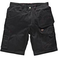 Dickies Redhawk Pro Multi-Pocket Work Shorts Black (Various Sizes)