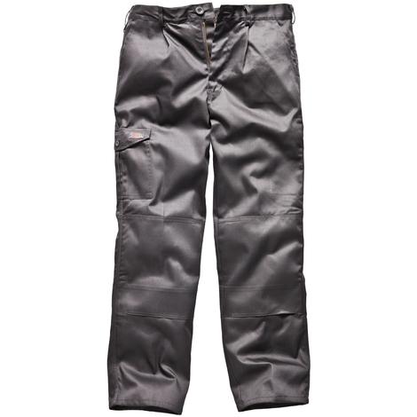 11b6a2c2 Dickies Redhawk Super Work Trousers Grey Trade Hardwearing - 30in Waist,  31in Leg