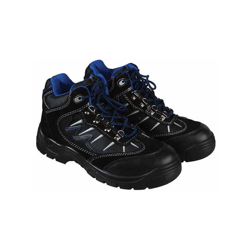 Image of Dickies FA23385S BK 10 Storm Super Safety Hiker Black/Blue Boots UK 10 EUR 44
