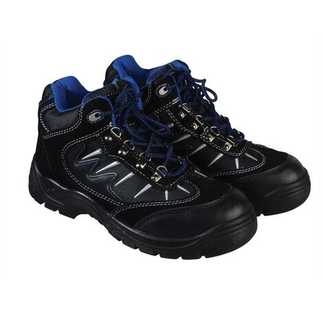 Dickies Storm Safety Work Boots Black (Sizes 7-12) Men's Steel Toe Cap Shoes