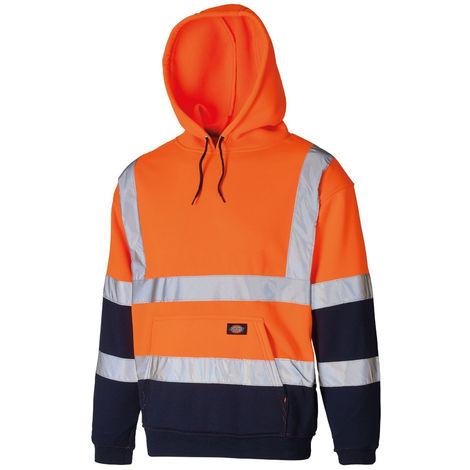 Dickies - Sweat-shirt à capuche HV bicolore Two Tone - SA22095