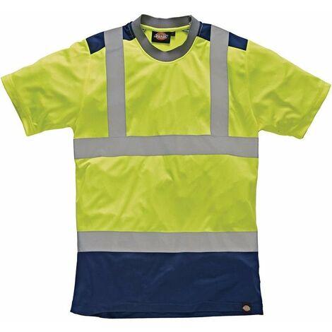 Dickies - T-shirt haute visibilité Two Tone