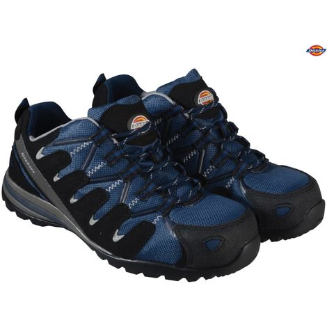 Dickies Tiber Super Safety Work Trainer Shoes Navy Blue (Sizes 3-12)