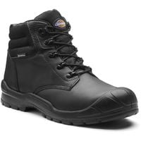 Dickies Trenton Safety Work Boots Black (Sizes 7-12) Men's Steel Toe Cap Shoes