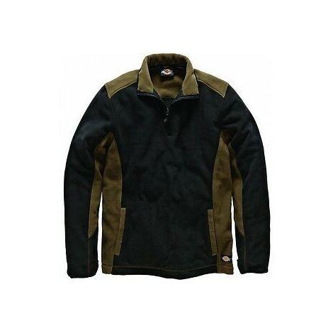 Dickies Two Tone Micro Fleece Khaki & Black (Sizes M-XXL)
