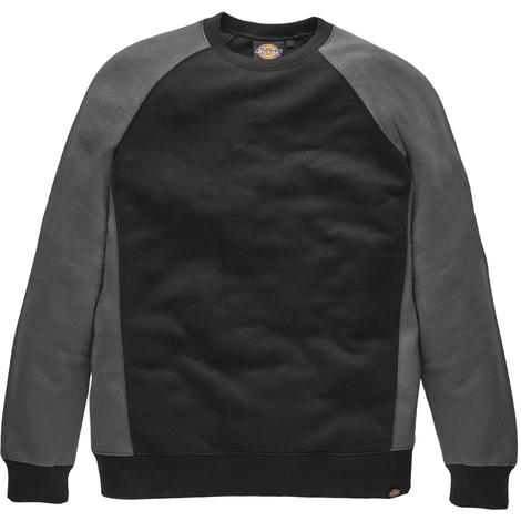 Dickies Two Tone Crew Neck Sweatshirt Mens Durable Work Jumper SH3008