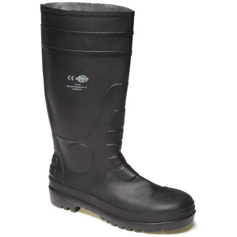 Dickies Unisex Super Safety Wellington / Safety Footwear