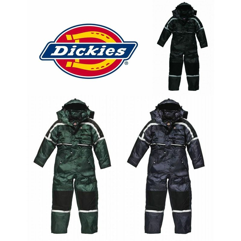 complete range of articles search for best Discover Dickies Waterproof Padded Overalls Mens Coverall WP15003 - Navy Blue - L