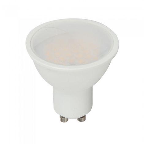 Dicroica LED GU10 con RF control 3.5W 110° 220V regulable Temperatura de color - 4000K Blanco natural + RGB