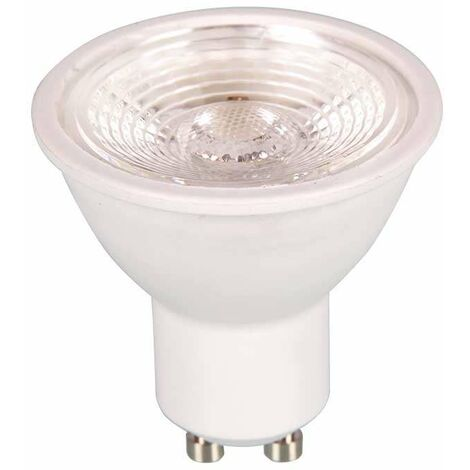 Dicroica led GU10 Premium SMD 7W 38° 220V regulable Temperatura de color - 3000K Blanco cálido