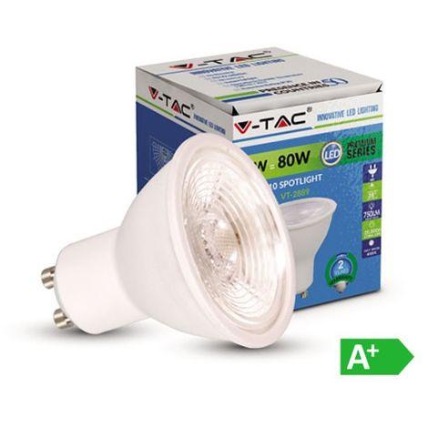 Dicroica led GU10 Premium SMD 8W 38° Plus 220V