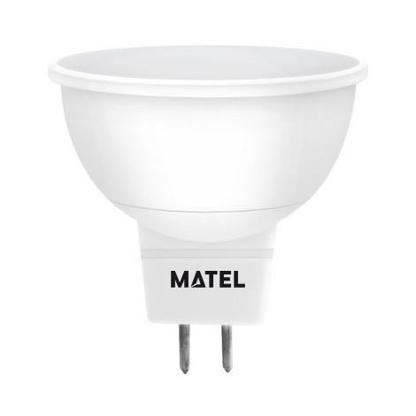 Dicroica Led SMD 3W MR16 300Lm 12V Matel