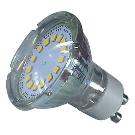 Dicroica LED SMD GU10 5W 4500K° Cristal