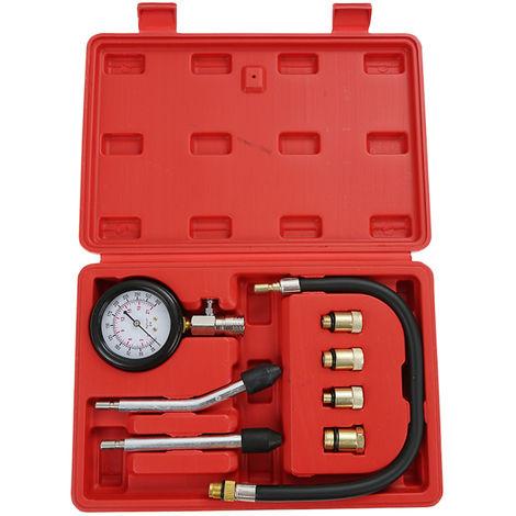 Diesel Engine Compression Cylinder Pressure Tester Gauge Kit -300 psi/0-21 bar