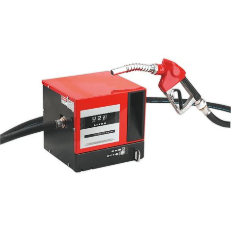 Diesel/Fluid Transfer System 56ltr/min Wall Mounting with Meter 230V