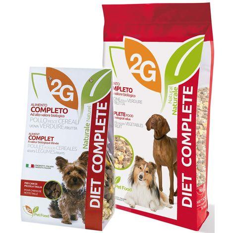 DIET COMPLETE alimento completo per cani per mantenere massa muscolare magra e denti più sani 2G Pet Food